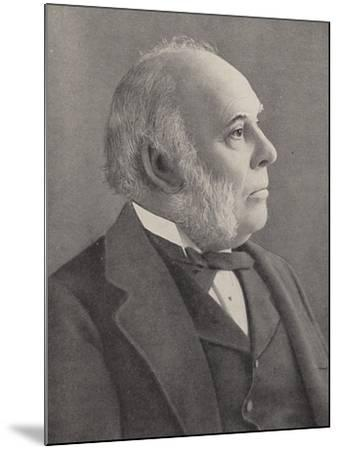 William Henry Smith--Mounted Photographic Print