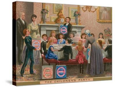 The Children's Party--Stretched Canvas Print