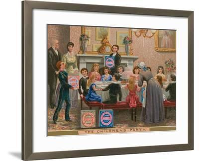 The Children's Party--Framed Giclee Print
