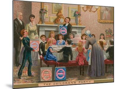 The Children's Party--Mounted Giclee Print