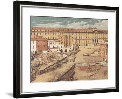 Italy, Naples, Albergo Dei Poveri--Framed Giclee Print