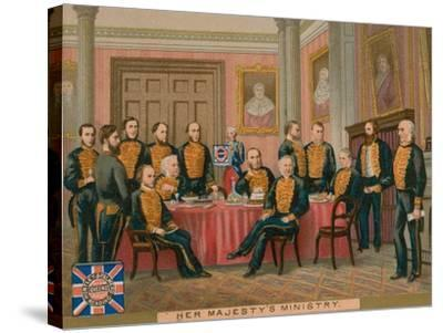 Her Majesty's Ministry--Stretched Canvas Print