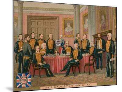 Her Majesty's Ministry--Mounted Giclee Print