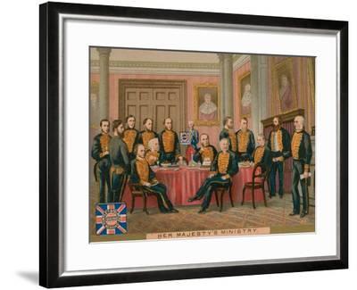 Her Majesty's Ministry--Framed Giclee Print