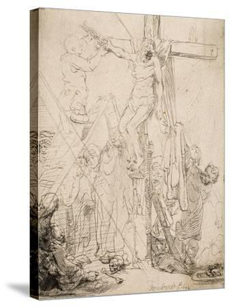 Descent from the Cross: a Sketch, 1642--Stretched Canvas Print