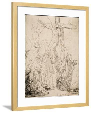 Descent from the Cross: a Sketch, 1642--Framed Giclee Print