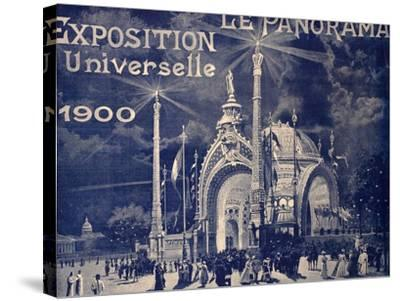 'Le Panorama', Exposition Universelle, Paris, 1900--Stretched Canvas Print