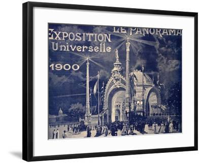 'Le Panorama', Exposition Universelle, Paris, 1900--Framed Photographic Print