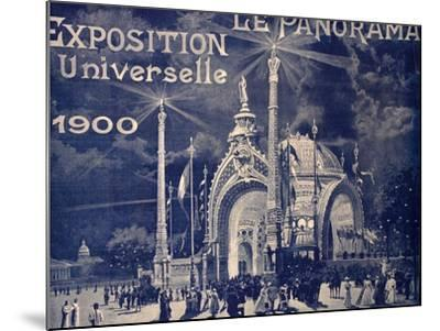 'Le Panorama', Exposition Universelle, Paris, 1900--Mounted Photographic Print