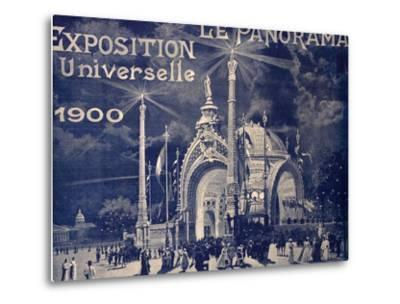 'Le Panorama', Exposition Universelle, Paris, 1900--Metal Print