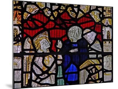 Window Ww Depicting a Resurrection Scene: the Holy Women at the Tomb--Mounted Giclee Print