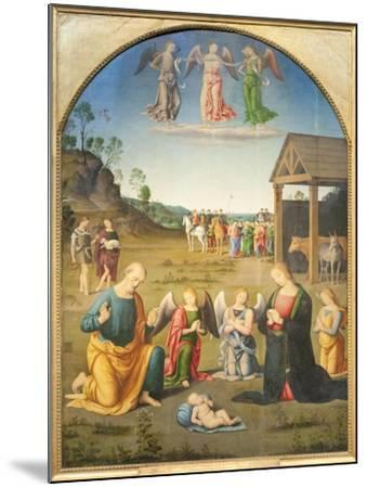 The Adoration of the Magi--Mounted Giclee Print