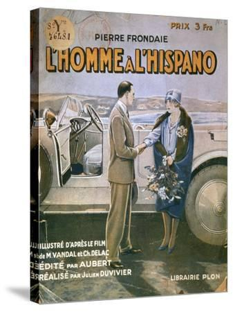 Front Cover of 'L'Homme a L'Hispano'--Stretched Canvas Print