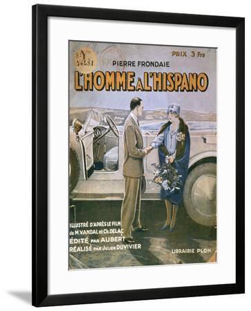 Front Cover of 'L'Homme a L'Hispano'--Framed Giclee Print