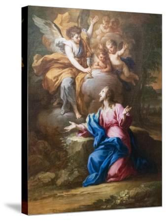 Christ in the Garden--Stretched Canvas Print