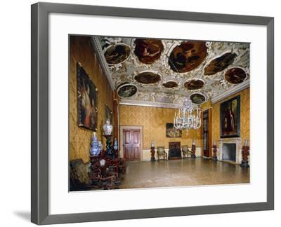 Hall of Brustolon, Ca' Rezzonico, Venice, Veneto, Italy--Framed Giclee Print