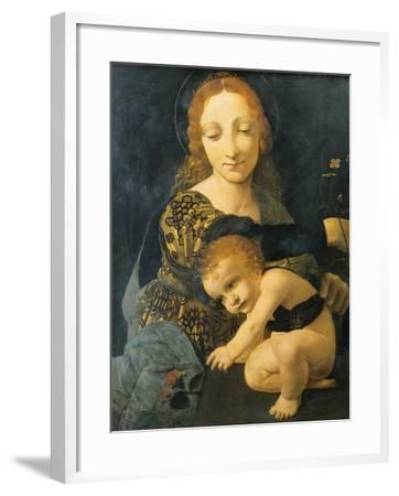 Madonna with Child--Framed Giclee Print