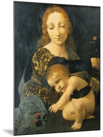 Madonna with Child--Mounted Giclee Print