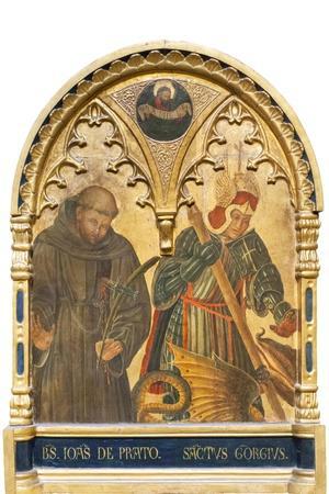 Il Beato Giovanni Da Prato E San Giorgio--Stretched Canvas Print