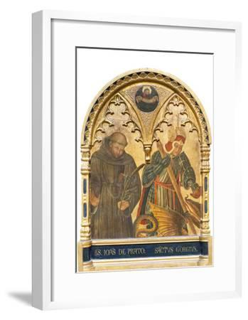 Il Beato Giovanni Da Prato E San Giorgio--Framed Giclee Print