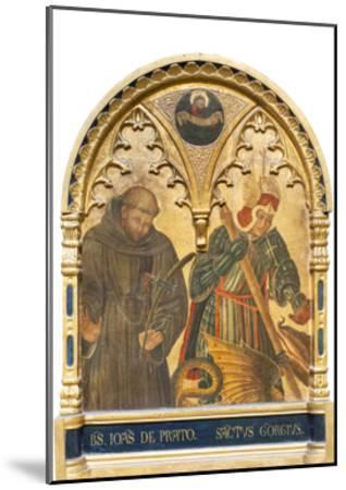 Il Beato Giovanni Da Prato E San Giorgio--Mounted Giclee Print