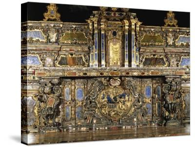 Detail of High Altar by Giovanni Battista Riccardi--Stretched Canvas Print