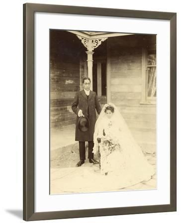 Bride and Groom, C 1925 Photographic Print by | Art com