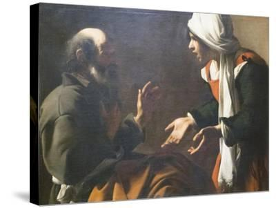 The Denial of Saint Peter--Stretched Canvas Print