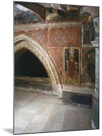Italy, Subiacoes Decorated Interior Sacro Speco Monastery--Mounted Giclee Print