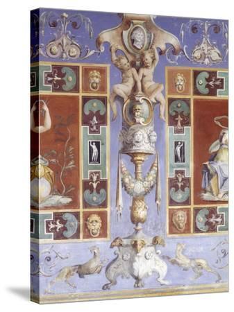 Italy, Lazio Region, Tivoli--Stretched Canvas Print