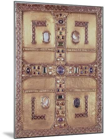 Queen Theodelinda's Gospel Book Cover in Gold, Cameos, Enamels and Precious Stones, Ca 603--Mounted Giclee Print