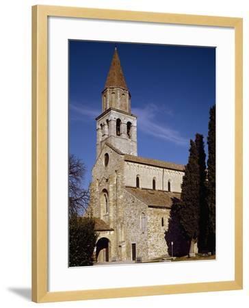Glimpse of Patriarchal Basilica of Santa Maria Assunta--Framed Photographic Print