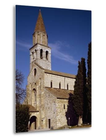 Glimpse of Patriarchal Basilica of Santa Maria Assunta--Metal Print