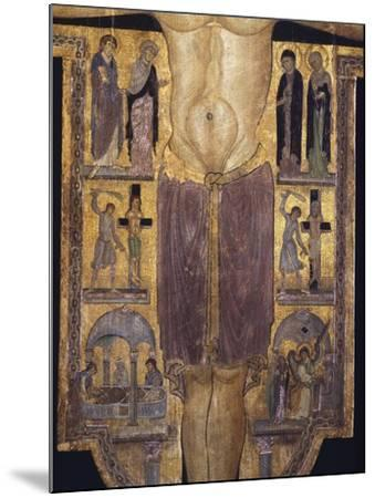 Crucifix, Detail of Central Part, 12th Century--Mounted Giclee Print