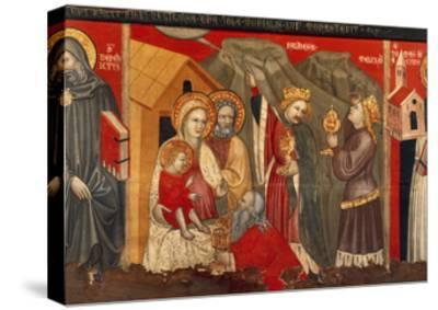 Adoration of the Magi--Stretched Canvas Print