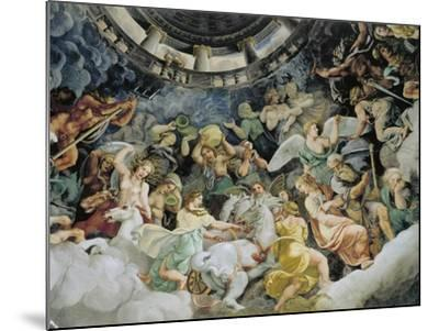 Gods of Olympus--Mounted Giclee Print