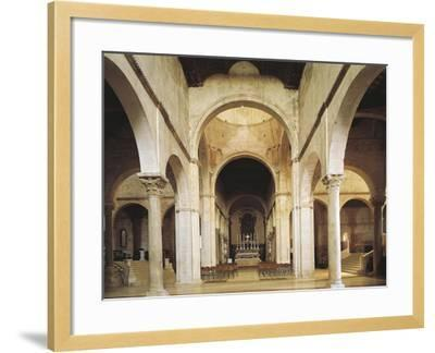 Interior of the Cathedral of San Ciriaco, Ancona, Italy, 11th-12th Century--Framed Giclee Print