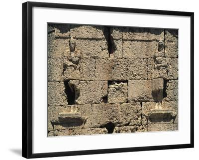 The God Attis, Relief on the Funerary Monument known as Scipio Tower, Tarragona--Framed Giclee Print