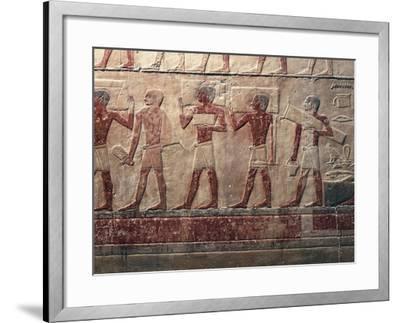 Egypt, Saqqara--Framed Giclee Print