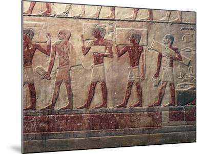 Egypt, Saqqara--Mounted Giclee Print