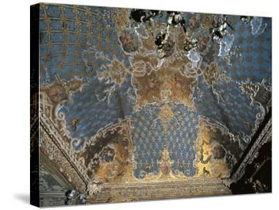 Four Seasons Room in Palazzo Madama, Turin, Italy, 13th-17th Century--Stretched Canvas Print