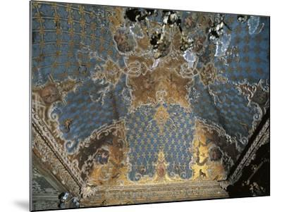 Four Seasons Room in Palazzo Madama, Turin, Italy, 13th-17th Century--Mounted Giclee Print