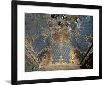 Four Seasons Room in Palazzo Madama, Turin, Italy, 13th-17th Century--Framed Giclee Print