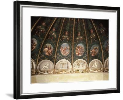 Decoration from St. Paul's Chamber or Abbess' Chamber--Framed Giclee Print
