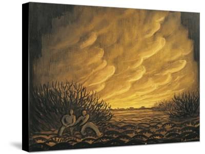 Austria, Vienna, Panos Aravantinos, Scenic Design for Wozzeck--Stretched Canvas Print