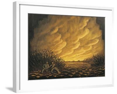 Austria, Vienna, Panos Aravantinos, Scenic Design for Wozzeck--Framed Giclee Print
