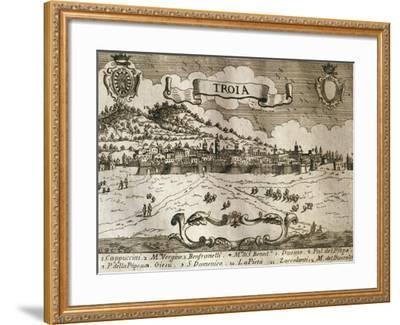 Italy, Troia, View of Troia--Framed Giclee Print