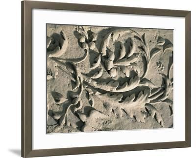 France, Decoration with Leaves and Birds--Framed Giclee Print
