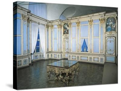 Library, Stupinigi's Little Hunting Palace--Stretched Canvas Print