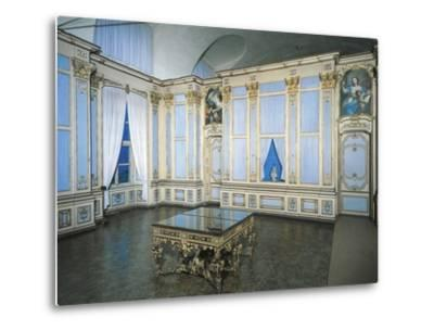 Library, Stupinigi's Little Hunting Palace--Metal Print